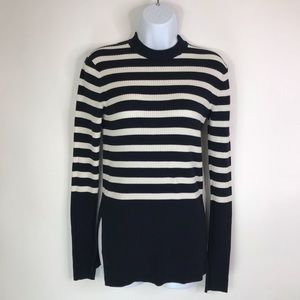 EVERLANE Striped tunic Sweater Round neck Small